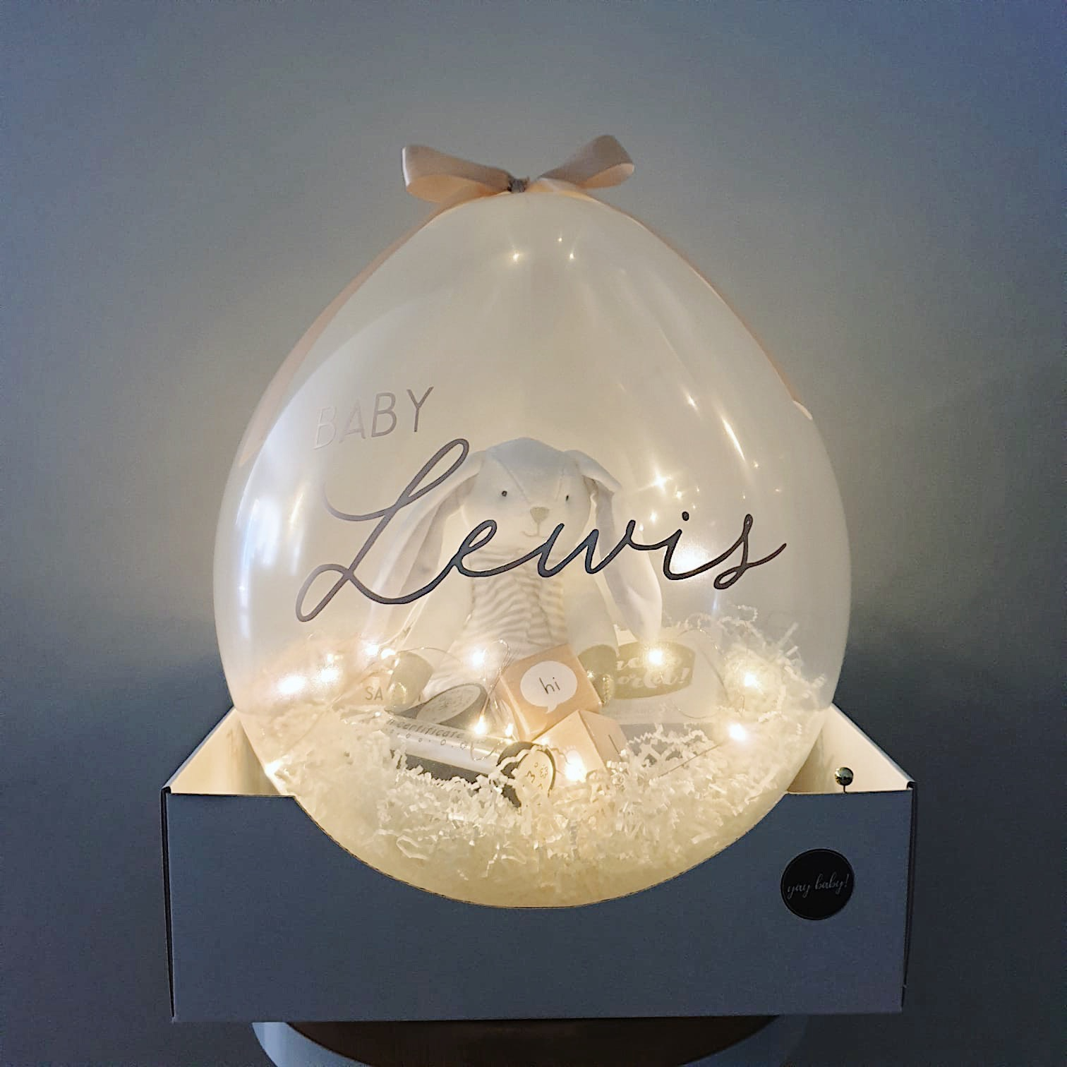 Create Your Own Luxe Gift Balloon