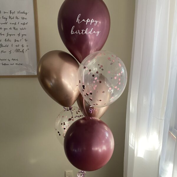 helium latex bouquet bunch for event, party or gift